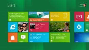 Windows 8 štart