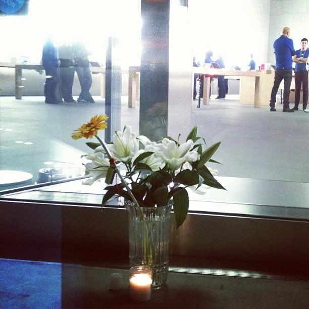 Kvety v Apple