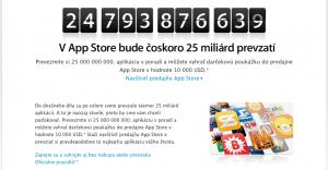 Apple download 25 miliard