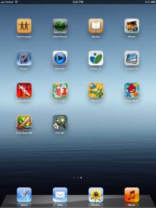 Fotografie z iPadu