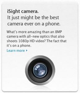 iPhone iSight