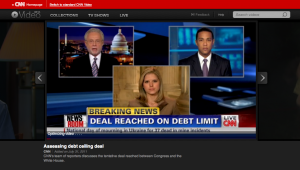 CNN live screen