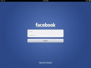 Facebook aplikacia