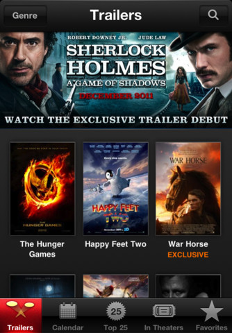 iTunes Movie Trailer